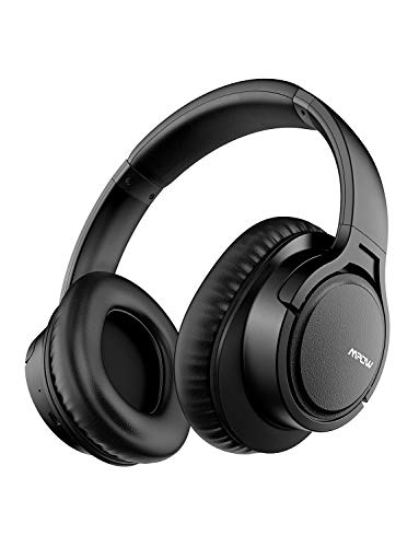 Mpow H7 Wireless Headphones Safe Rechargeable & Ultra-Long 18 Hours w/Bag, Comfortable Bluetooth Headphones Over-Ear Headset with Mic for Cellphone/Tablet
