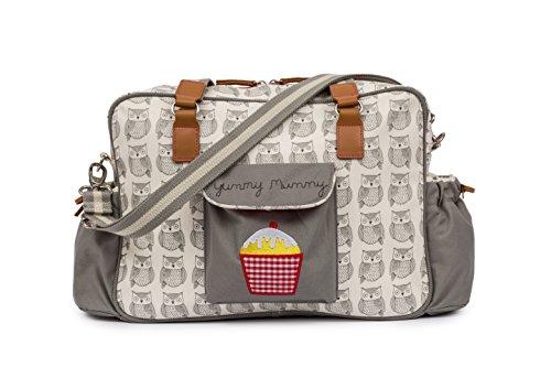 Pink Lining Yummy Mummy Diaper Bag - Wise Owl
