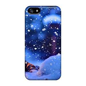 Saraumes Design High Quality Winter Lantern Cover Case With Excellent Style For Iphone 5/5s