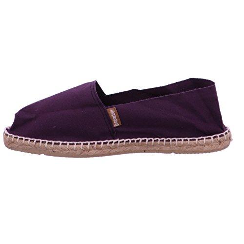 Espadrij Loriginale Kvinna Klassisk Bomull Lila Storlek 38 Sneakers Hade - Oss 7.5