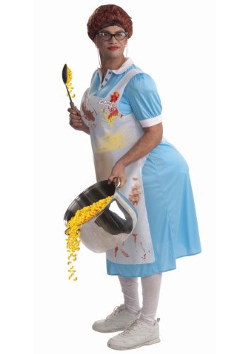 Forum Novelties Mildred The Lunch Lady Costume, Blue,