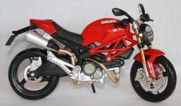 Motorrad Modell Maisto 1:12 Ducati Monster 696