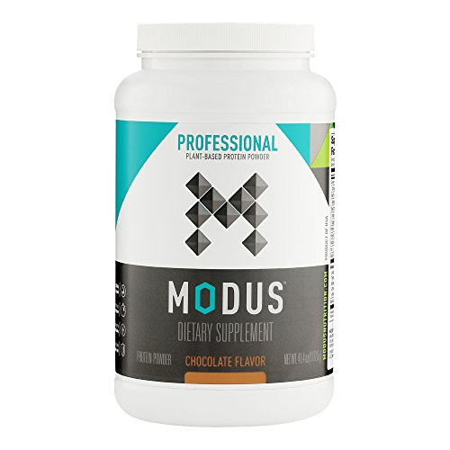 Modus Plant-Based Protein Powder, 41.4 oz Tub (20 Servings) For Sale