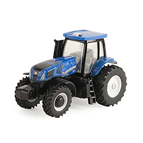 ERTL Collect N Play Toy Tractor - New Holland Modern Cab with MFD (Ertl Toy Tractors)