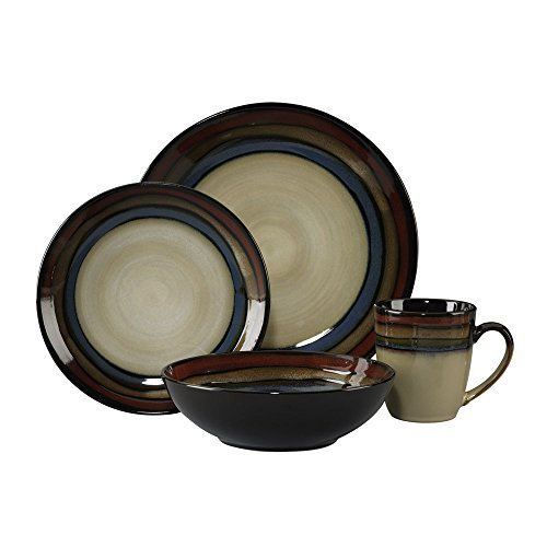Pfaltzgraff 5136399 Galaxy Dinnerware Set, Assorted