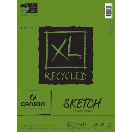 xl recycled drawing pads - 3