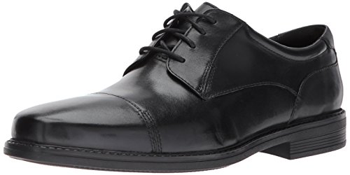 Bostonian Men's Wenham Cap Oxford, Black, 8.5 M - Shoes Mens Dress Bostonian