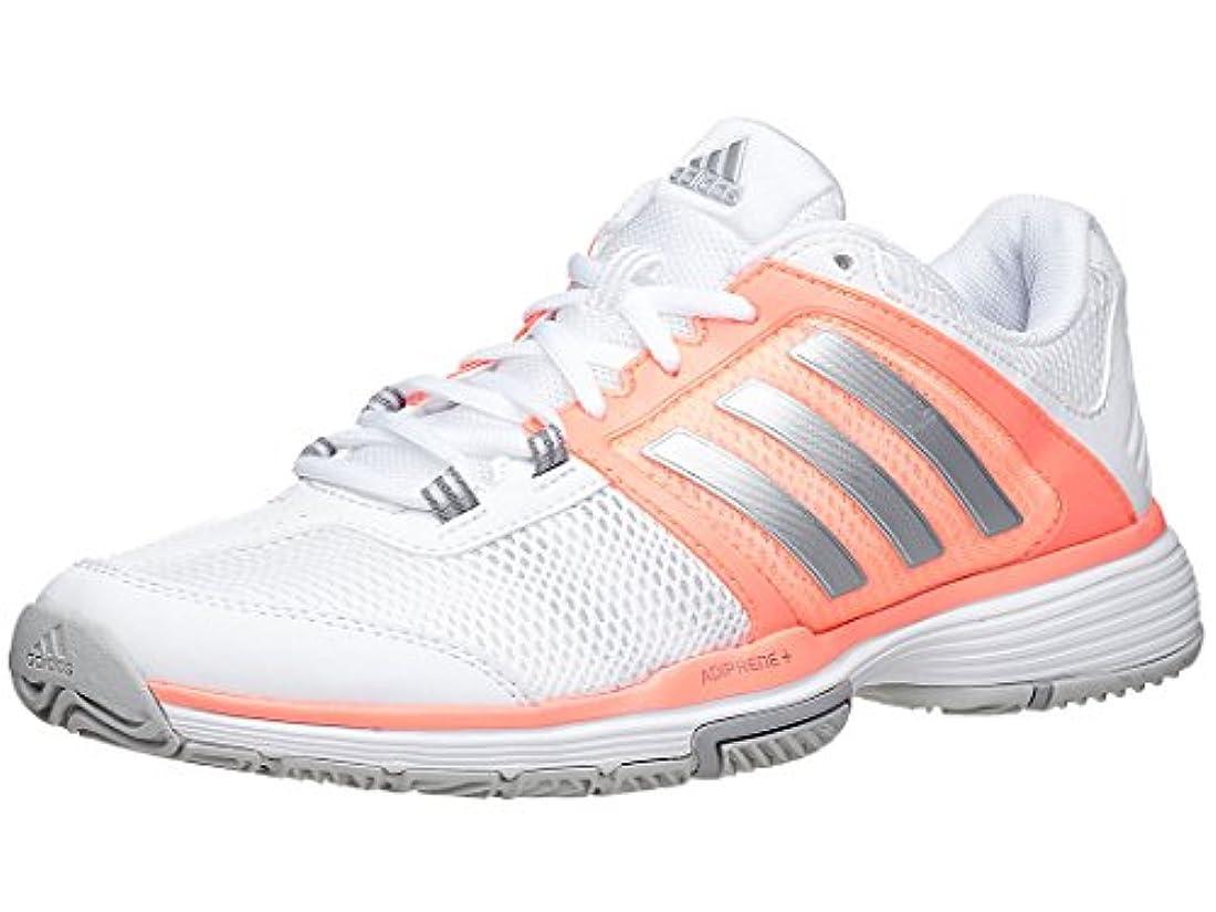 adidas donne è barricata club scarpe da tennis bianca e opaca silver