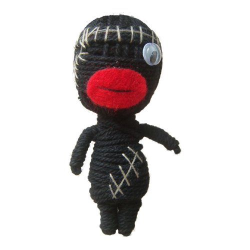 SEVEN ONE - Voo Doo Hand Made Doll String Keychain (C)