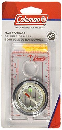 Coleman Map Compass Distortion Compass