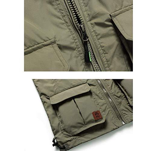 Reporter Alpinismo Multi Vest Giallo Fotogiornalista Da Uomo Classiche Ragazzi Outdoor Pesca Pocket Mesh Gilet wZ8qYPv