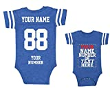 Custom Jerseys for Babies - Make Your OWN Jersey ONE-Piece Suits - Personalized Baby & Newborn Outfits