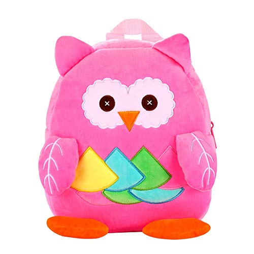 Willow S 2019 Trend Children Boys and Girls Cartoon Cute Animal Printted 3D Stereo Backpack Travel Larger Capavity Totes