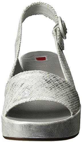 Högl 3206 Kvinder Kiler Sandaler 10 silber7600 Sølv 03 aF5qxpU