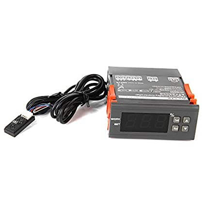 TOOGOO (R) WH8040 regulador digitales de control de la humedad del aire
