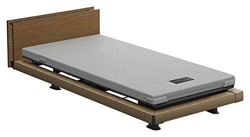 パラマウントベッド 電動ベッド インタイム1000 マットレス付 1+1モーター ヨーロピアン フットボードあり (グレー) RQ-1136MG+RM-E531 【4梱包】 B076DRT862 抽象柄(グレー)|ヨーロピアン フットボードあり (グレー) 抽象柄(グレー)