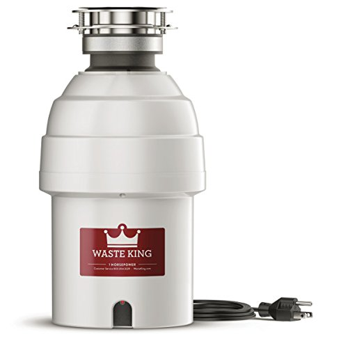 Waste King 9980 Garbage Disposal with Power Cord,  1 HP by Waste King