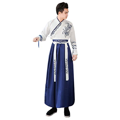 Ez-sofei Ancient Chinese Han Dynasty Traditional Hanfu Cosplay Costume for  Couples 9a98e6efe