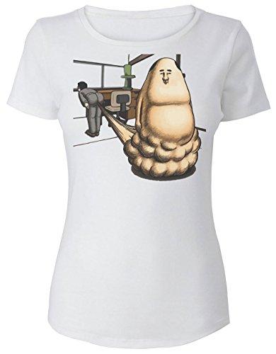 Funny Onara Gorou Design With A Farting Man Women's T-Shirt