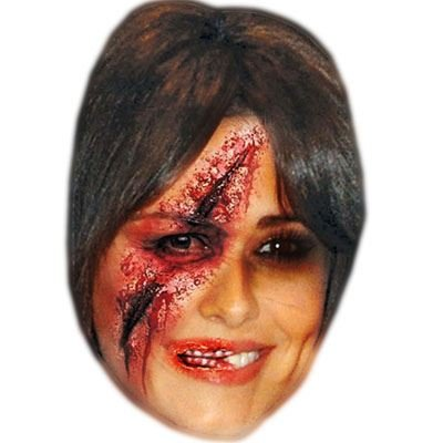 Celebrity Cutouts Zombie Cheryl Cole Mask, Halloween, Fancy Dress, Party]()