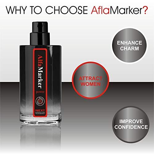 Male Pheromones to Attract Women Alfamarker Pheromone Perfume for Men 20 ml (Light) Mens Fragrant Scent