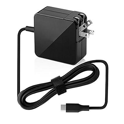 Amazon.com: lanyos 65 W USB C Tipo C Adaptador de ...