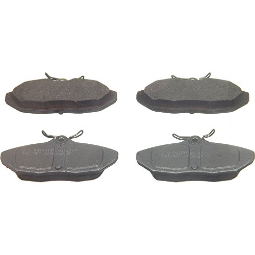 - Wagner ThermoQuiet PD599 Ceramic Disc Pad Set, Rear