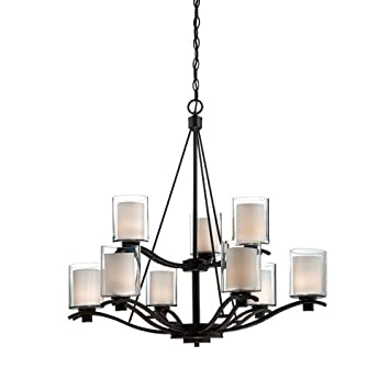 Artcraft lighting andover 9 light chandelier oil rubbed bronze artcraft lighting andover 9 light chandelier oil rubbed bronze mozeypictures Gallery