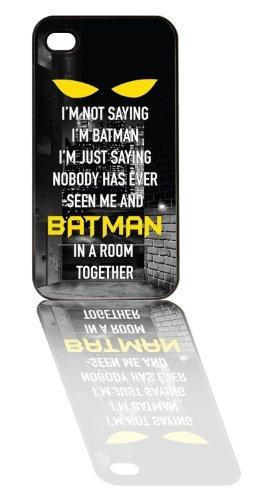 iPhone Case, I'm Not Saying I'm Batman (iPhone 5 Black) (style39)