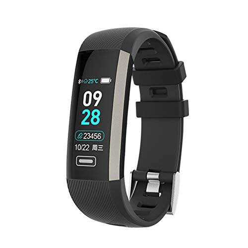 XFCS M2 Smart Wrist Band R5 PRO Heart Rate Blood Pressure Oxygen Oximeter Sport Bracelet Watch Intelligent for iOS Android (Black-New) (Finger Blood Pressure Monitors Pros And Cons)