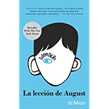 La lección de August: Wonder (Spanish-language Edition) (Spanish Edition)