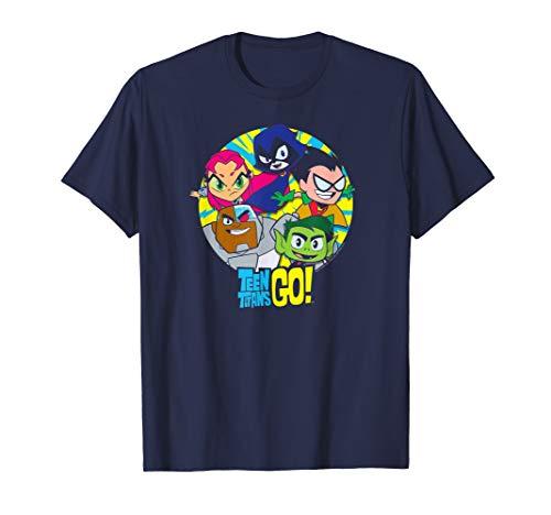Teen Titans Go! Go Go Group T Shirt]()