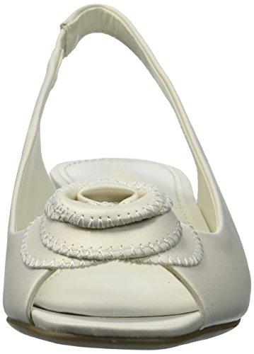 Pump Synthetic Klein Sandal Dress Harietta Anne White Off Women's XBqwaqn68