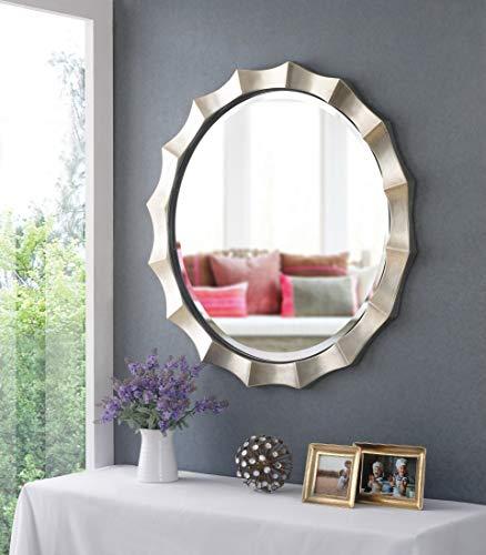 Kenroy Home Chorale Wall Mirror, 34 Inch Diameter, -