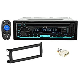 JVC Stereo/Receiver/CD Player Factory Replacement For 2003-06 JEEP WRANGLER TJ