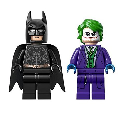 LEGO DC Comics Super Heroes Exclusive Minifigures Batman & The Joker (76023)