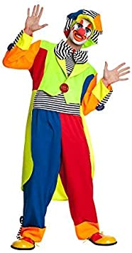 riesige Clown Fliege für Erwachsene Karneval Fasching Party lustig bunt groß