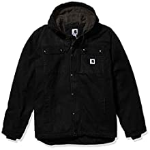 Carhartt Men's Bartlett Jacket (Regular and Big & Tall Sizes), Black, X-Large