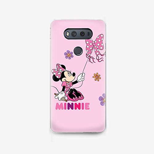 (GSPSTORE LG V20 case,Lovely Cartoon Mickey Mouse and Minnie Mouse Hard Plastic Protector Cover for LG V20 #08)