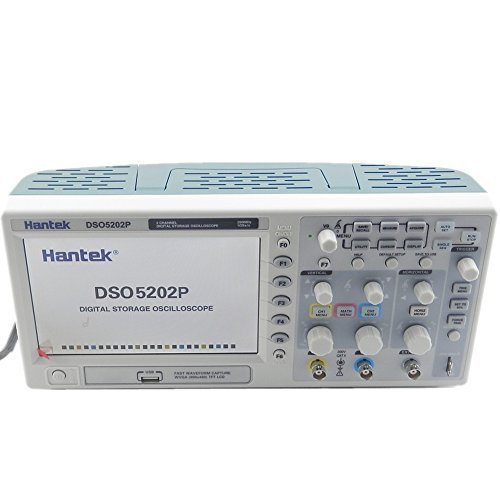 Hantek DSO5202P Digital storage oscilloscope 200MHz 2 Channels 1GSa/s 7'' TFT LCD 2CH Record Length 40K USB AC110-220V