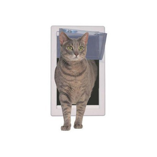 Perfect Pet Soft Flap Cat Door with Telescoping Frame, Small, 5