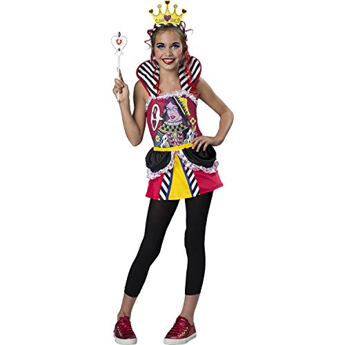 Queen of Hearts Costume - Child / Tween - Girl's Size Large (10-12)