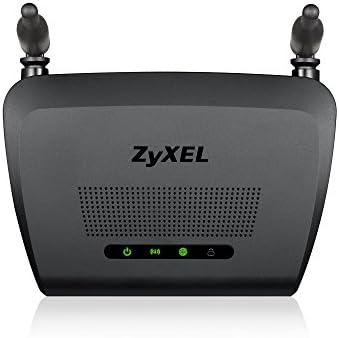 Zyxel N300 Router inalámbrico para el Sector de Videojuegos y Medios de comunicación con Dos Antenas omnidireccionales de 5 dBi [NBG418NV2]