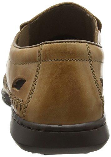 Rieker Mens Storm Casual Shoes Caramel 135EKGgT