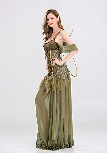Erwachsener Engel Party Kostüme Halloween Frau Kleid Königin DS Kleidung Rollenspiel Maskerade GYH wqxTEtIq