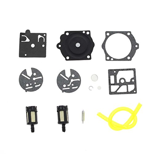 AUTOKAY Carb Repair Kit For Walbro HDC Homelite EZ & Super EZ Homelite 350 360 150 60
