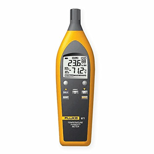 Fluke 971 Thermohygrometer, 5 to 95% RH/, -4 to 140F by Fluke (Image #1)