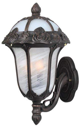 Special Lite Products Rose Garden F-3717-CP/AB Large Bottom Mount Light, -