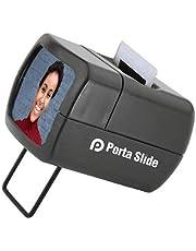 Porta Slide PS-E2 Illuminated Slide Viewer, Battery-Operated Hand Held Slide Viewer, Portable Slide Viewer, Picture Slide Viewer for 2X2 & 35mm Photos & Film, Photo Slide Viewer, Made in Europe