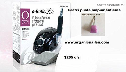 E-buffer Electric File Organic Nails Free Manicure Bit Www.organicnailsu.com (BLACK) by Organic Nails